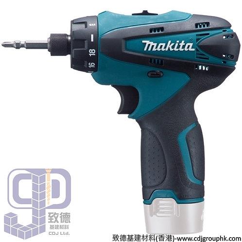 """日本""""MAKITA""""牧田-電動工具-10mm(3/8吋)充電式起子電鑽-DF030DZ"""