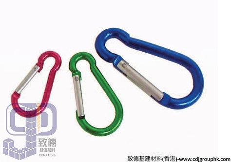 中國-彩色爬山扣(鋁合金,5,6,8mm)-7558090(AE)