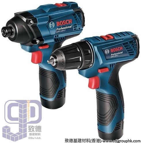 """德國""""BOSCH""""博世-電動工具-GDR 120-LI衝擊批+GSR 120-LI電鑽起子機Professional孖寶雙批套裝-GDR GSR 120-LI"""