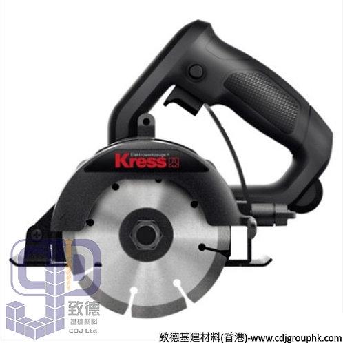 """德國""""KRESS""""卡勝-電動工具-110mm可斜切雲石機(1300W)-220V-KU076/KU070(KMC130)"""