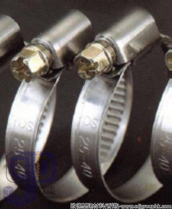 """韓國""""WCT""""-316不銹鋼白鋼喉箍(8-4至277-301mm)-TKKO814272301316(WIP)"""