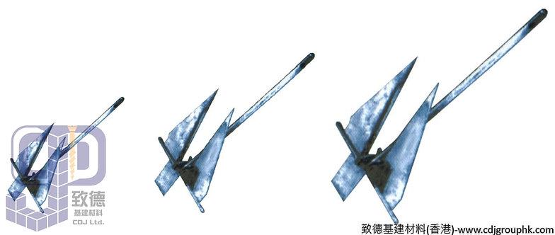 中國-不銹鋼丹佛斯船錨(DANFORTH ANCAOR)2.5KG-30.0KG-TKDA25300(WIP)