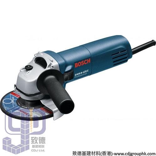 """德國""""BOSCH""""博世-電動工具-5吋角磨機Professional-GWS 8-125 C"""