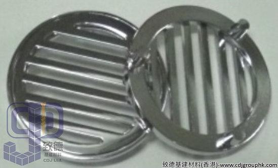 中國-3寸銅圓型三腳渠閘-NK22WIN006(NTK)
