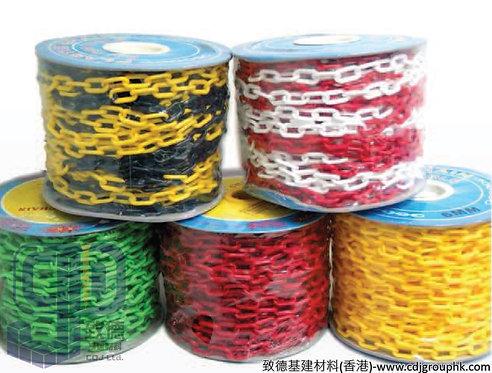 中國-塑膠鏈(1/4寸x50M.黃.紅.綠.白.橙.1,4寸x25M白)-757567890(AE)