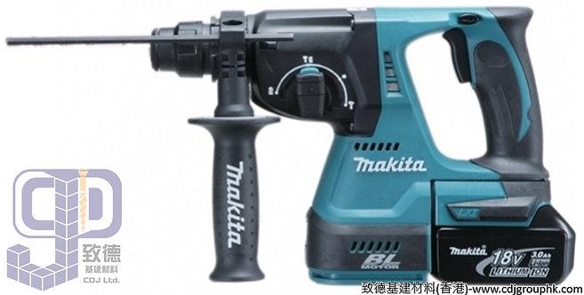 "日本""MAKITA""牧田-電動工具-24mm(15/16吋)充電式電錘-DHR242RTEV"