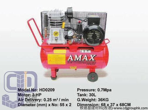 "意大利""AMAX""-3HP靜音風泵(皮帶)30L-HD0209(AE)"