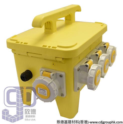 """中國""""APEKS""""-110V防水蘇配電膠箱16A-3Px4位連RCD+MCB(IP67)-960609"""