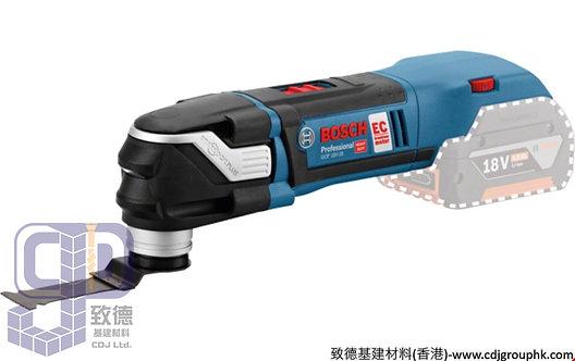 德國BOSCH博世-電動工具-鋰電多功能切割機/萬應寶<無碳刷>(淨機)Professional-GOP 18V-EC