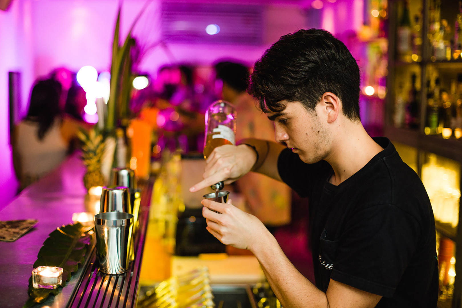 Tropic City Head Bartender - Arron