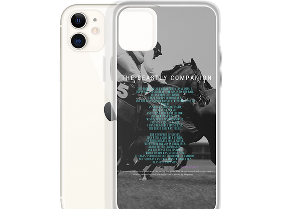 """Beastly Companion"" iPhone Case"