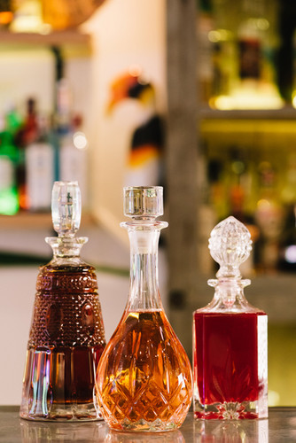 Cocktail Flasks At Tropic City