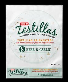 HEB FLAVORED TORTILLAS