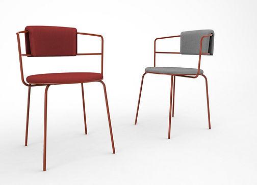 carré plié architecture design chaise chair meubles