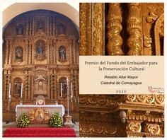 """Honduras en programa """"Fondos del Embajador para la Preservación Cultural"""""""