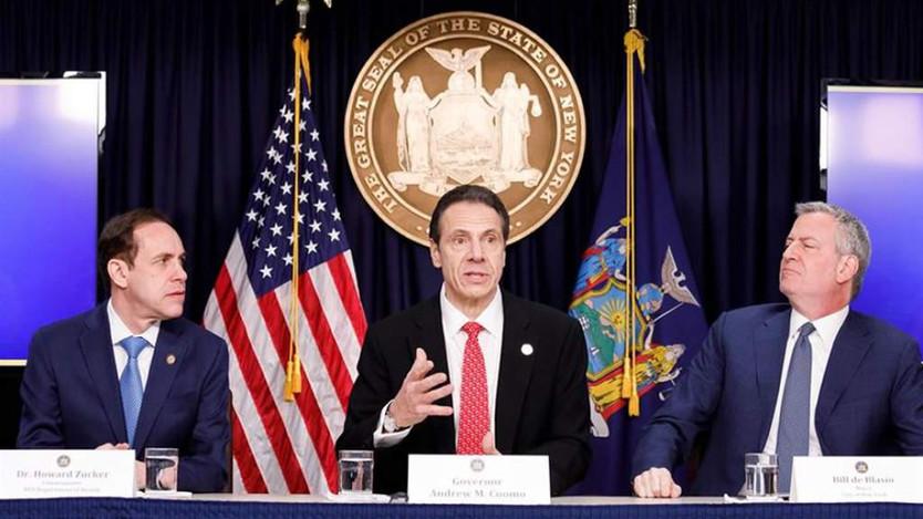 Nueva York ha registrado más de 9.000 infectados en un día