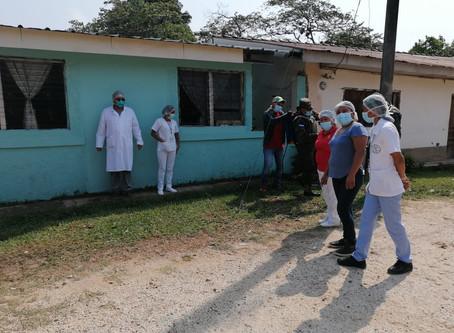 En la Paz, instalan cercos epidemiológicos para que no se propague el virus
