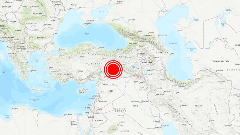 Potente terremoto de magnitud 6,5 se registra en el este de Turquía y se siente en varios países