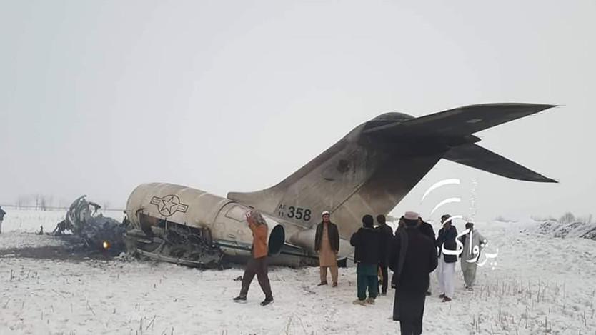 Estados Unidos confirma que perdió un avión militar en Afganistán