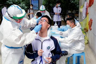 Wuhan podría hacer test a todos sus habitantes tras el nuevo foco de covid-19