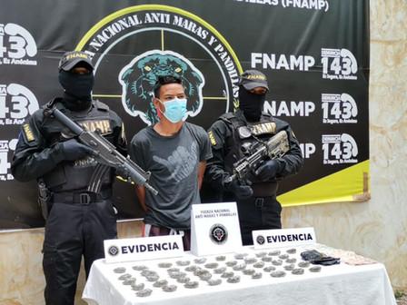 FNAMP continúa en su proceso de desarticular a grupos delictivos en Comayagua