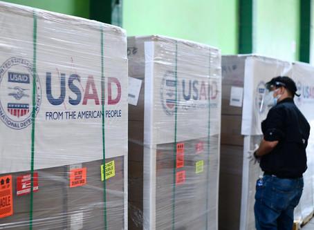 El Gobierno de los Estados Unidos dona un nuevo lote de ventiladores