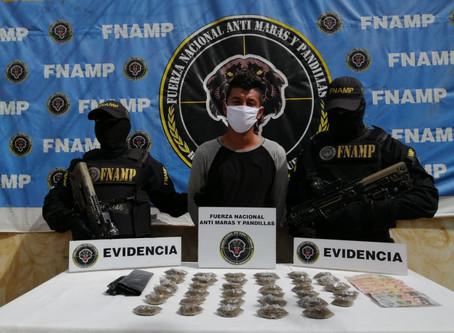 FNAMP captura de 2 miembros de la Mara Salvatrucha MS-13 en Comayagua