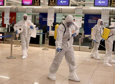 En España, el coronavirus ya ha causado 830 muertes y ha infectado a más de 17.900 personas