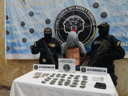 FNAMP requirió a menor de edad dedicado al tráfico de drogas en la Col. Milagro de Dios
