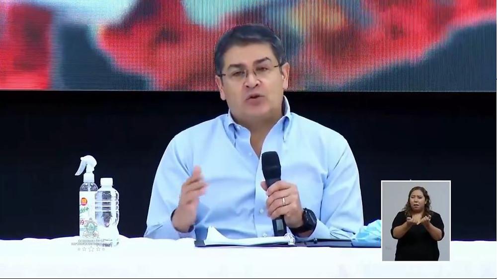JOH: El proceso electoral debe seguir, pero el Gobierno continuará enfocado en enfrentar el covid-19