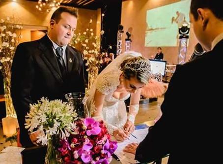 O Celebrante pode fazer Casamento com Efeito Civil?