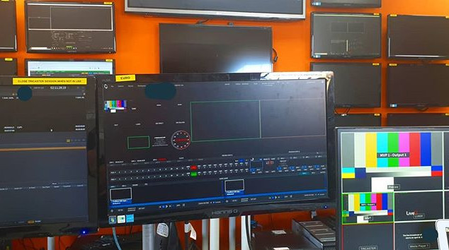 Had a great day as a #visionmixer recent