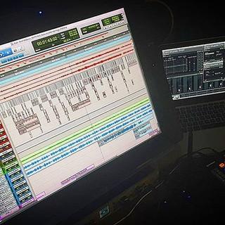 Deep in the #studio with my _avidtechnol