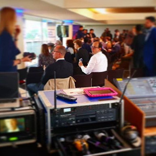 Busy #press conference I worked on a whi