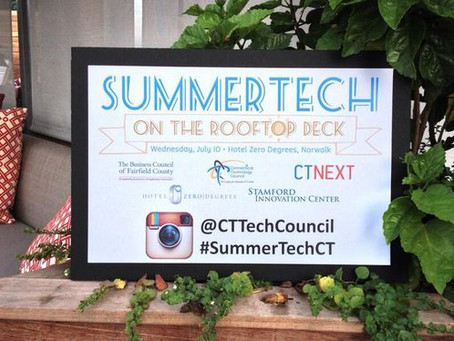 SummerTech on the Rooftop Deck 2013