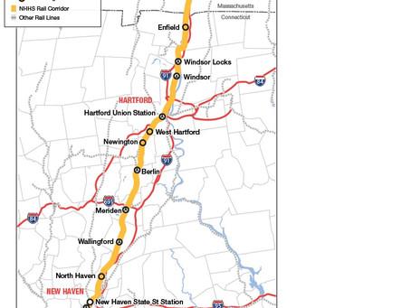 Transportation Secretary Visits New Haven to Talk Trains