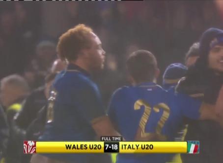 6 Nazioni Under 20, gli azzurri battono i dragoni