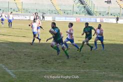 Serie A, l'Aquila corsara a Benevento. 25-21 per gli ospiti il risultato