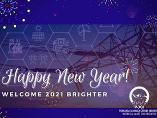 Organisasi PJCI mengucapkan Selamat tahun Baru 2021!