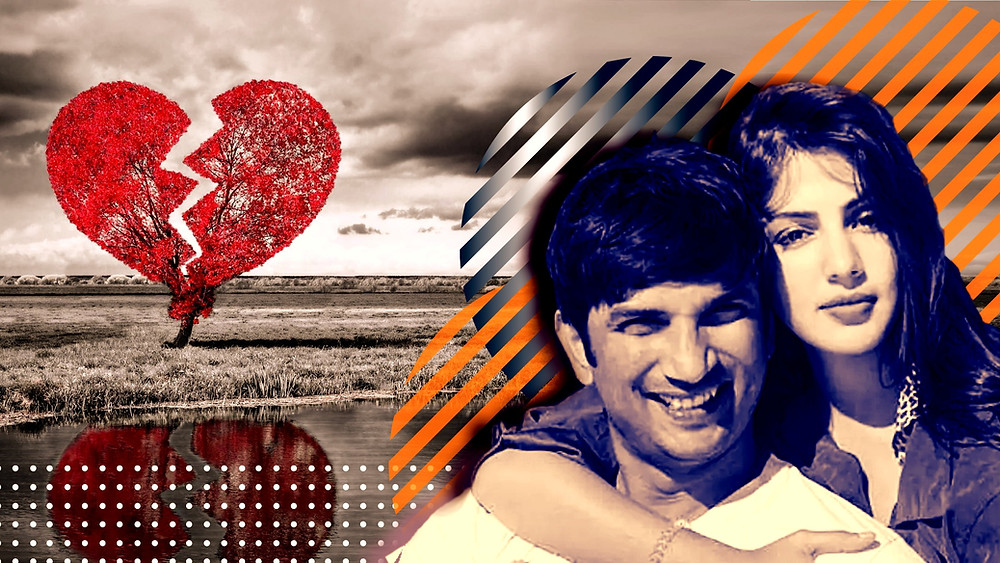 sushant singh rajput rhea chakraborty relationship
