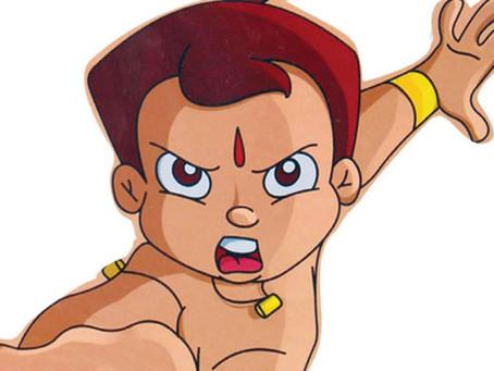 Chhota Bheem, Chutki on mask protecting children from corona