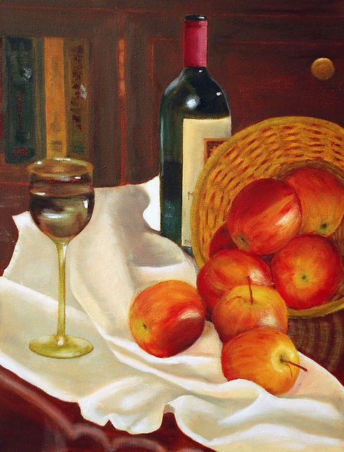 Apples and Wine (14X18).JPG
