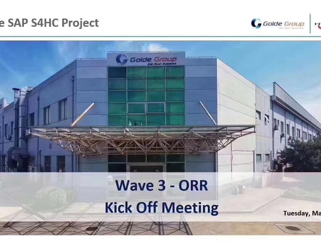 Good News! [Hand & CIE SAP S4 HANA] The Cloud ERP project in Europe is officially kicked off!