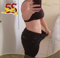 3 meses_-16,5kg_Redução de percentual de gordura em quase 10%_Aumento de massa magra - 18cm de circu