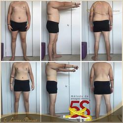 Simplesmente apaixonada por esse resultado!__Redução de 21kg_-10% de percentual de gordura_72 dias d