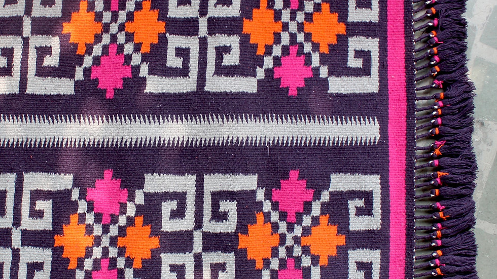 Purple Mohenjodaro Durrie