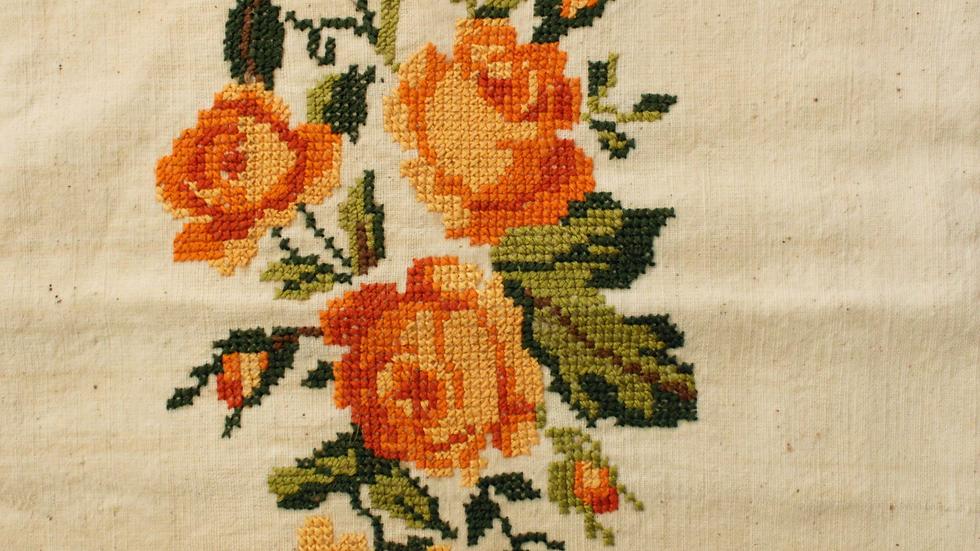 Rose Cushion Cover