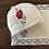 Thumbnail: Single Rose - Red Tea Linen