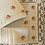 Thumbnail: Red-Rose Embroidered Tea Linen (hand-woven)