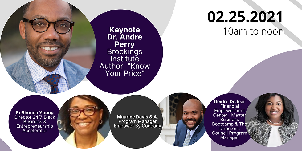 Wealth Equity and Empowering BIPOC Businesses with Dr. Andre Perry